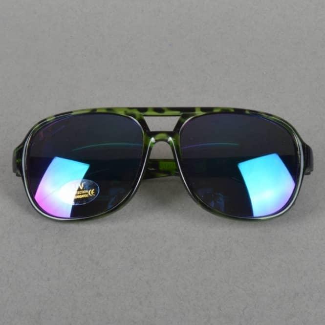 59ddd6c85d3 Creature Skateboards Cabanaz Creeper Sunglasses - Green Tortoise ...