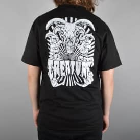 Creature Skateboards Ceremony Skate T-Shirt - Black