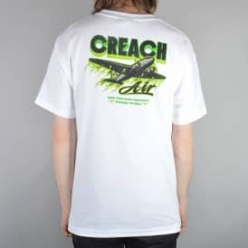 Creature Skateboards Creach Air Skate T-Shirt - White