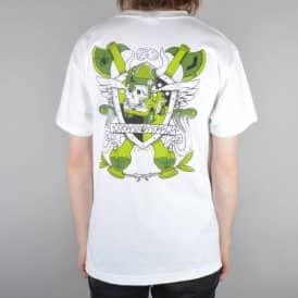 Creature Skateboards Creature Customs Pocket T-Shirt - White