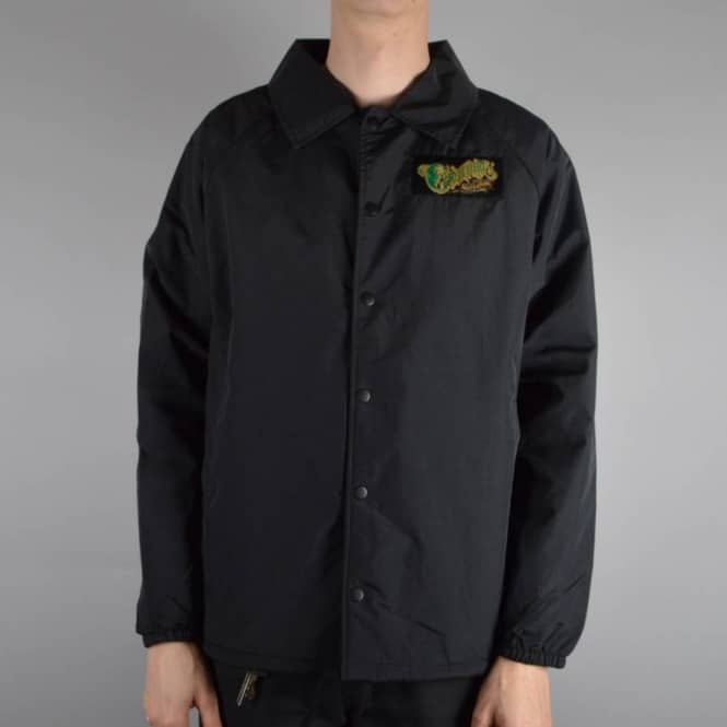 Creature Skateboards Creeper Coach Jacket - Black