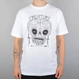 Creature Skateboards Criddler Skate T-Shirt - White