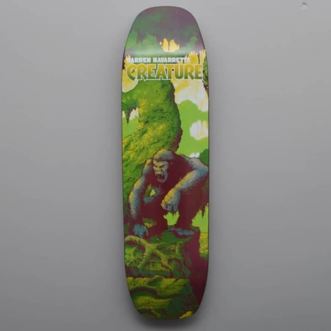Creature Skateboards Darren Navarrette Primitive Skateboard Deck 8.8