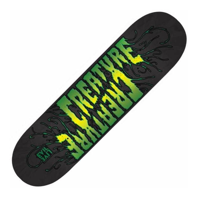 Creature Skateboards EviLive Reanimator Small Skateboard Deck 8.2