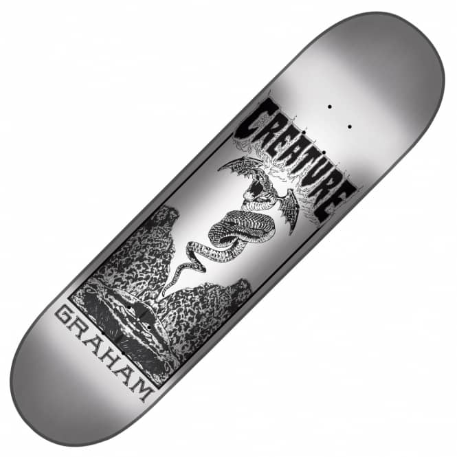 Creature Skateboards Graham Plague Skateboard Deck 9.0