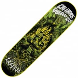 Creature Skateboards Graham Voodoo Isle Skateboard Deck 9.0""