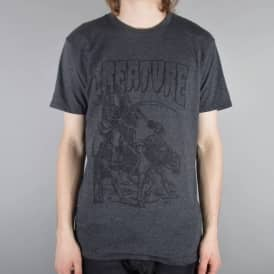 Creature Skateboards Harvest Skate T-Shirt - Charcoal Heather