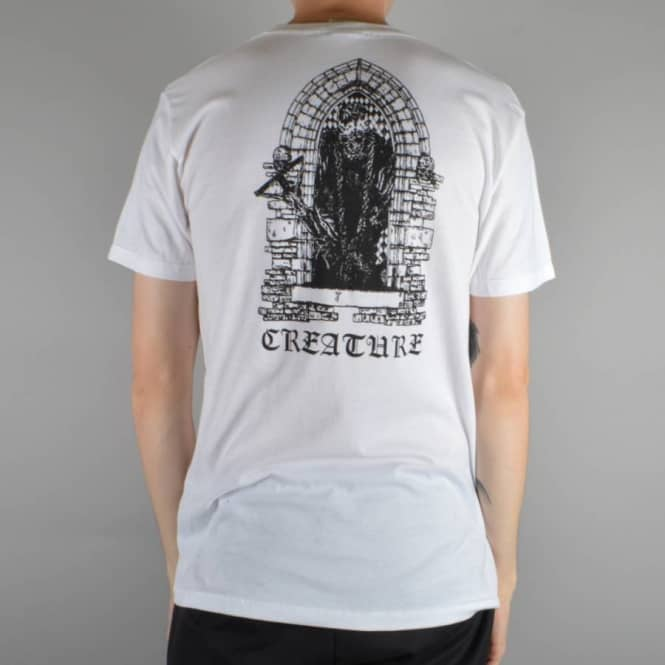 Creature Skateboards Hate Eternal Skate T-Shirt - White