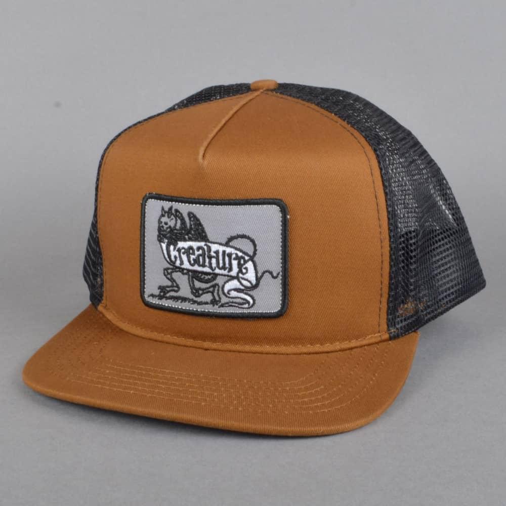 03d33a447ad9ec Creature Skateboards Imp Mesh Trucker Snapback Cap - Brown/Black ...