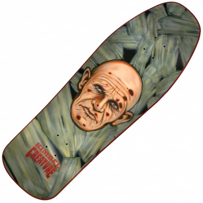 Creature Skateboards Kimbel Scratch A Tweaker Custom Skateboard Deck 10.0