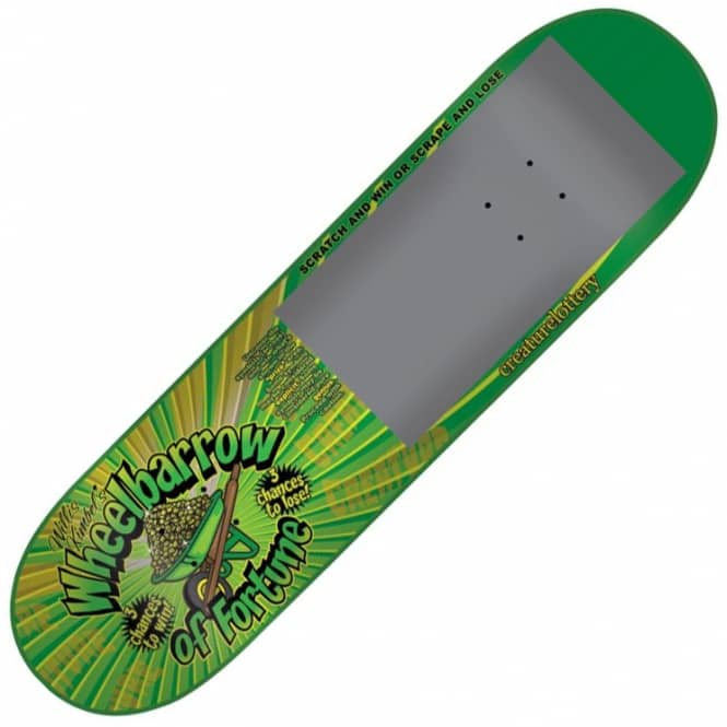 Creature Skateboards Kimbel Scratcher Skateboard Deck 9.0