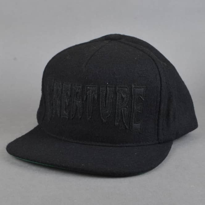 Creature Skateboards Mole Snapback Cap - Black