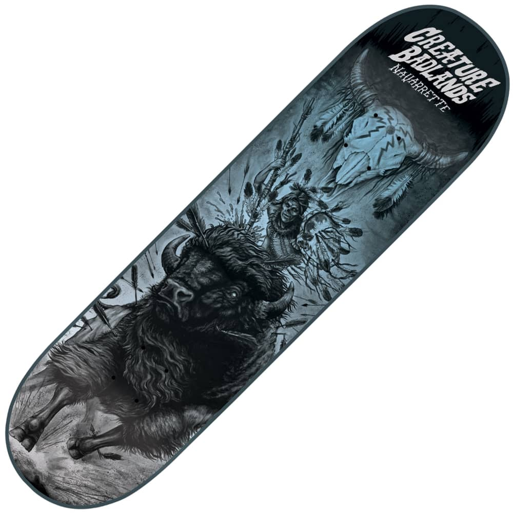 4eb797ea Creature Skateboards Creature Skateboards Navarrette Back To The Badlands Skateboard  Deck 8.8