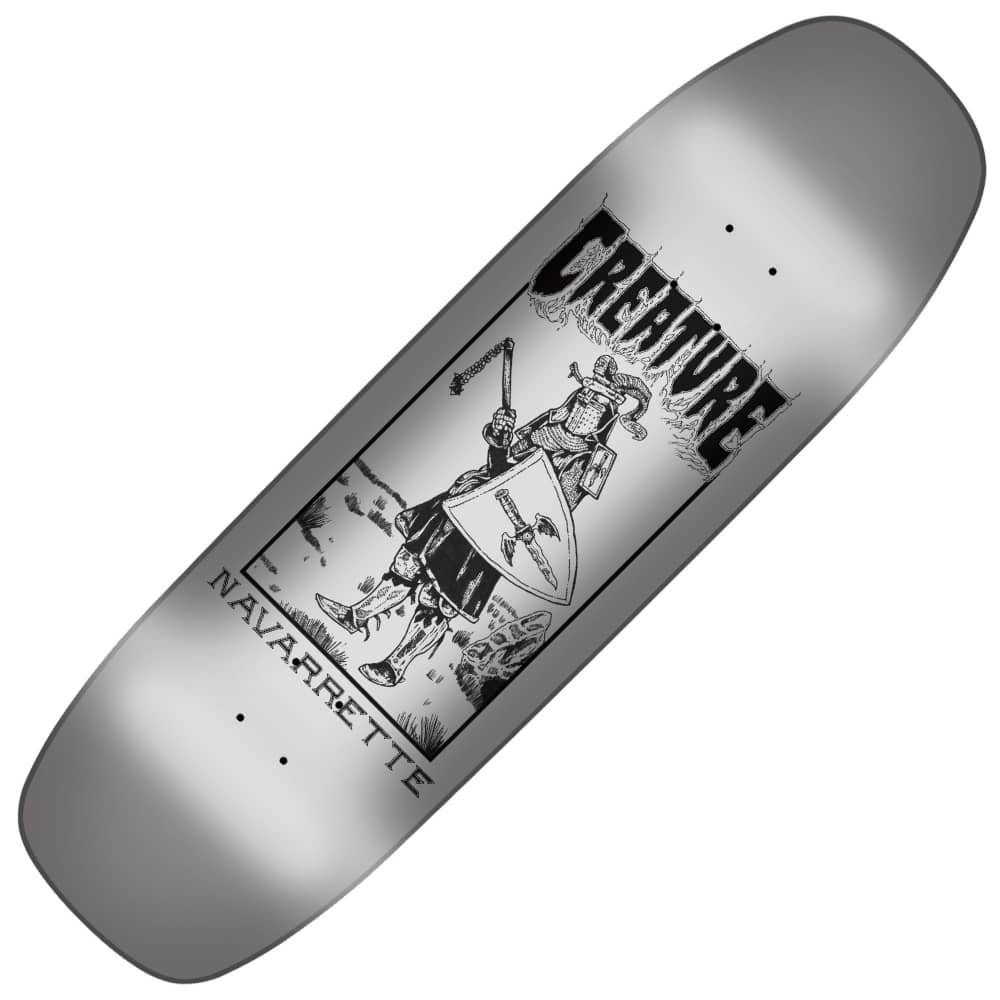 bd53b403 Creature Skateboards Navarrette Plague Custom Shape Skateboard Deck ...