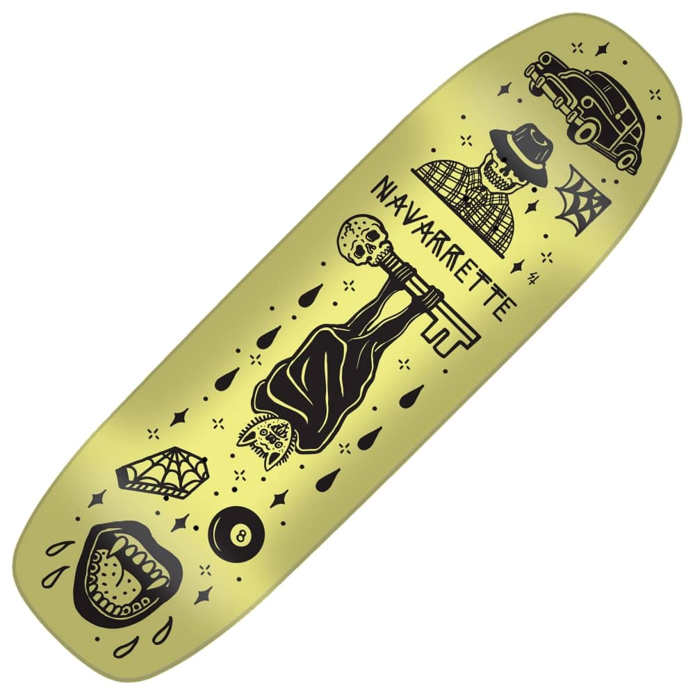 a7f3a606 Creature Skateboards Navarrette Tanked Custom Shape Skateboard Deck ...