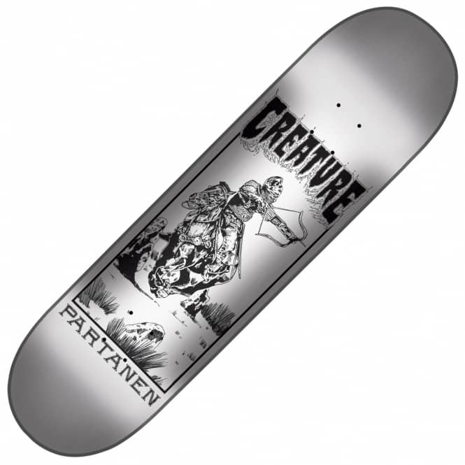 Creature Skateboards Partanen Plague Skateboard Deck 8.3