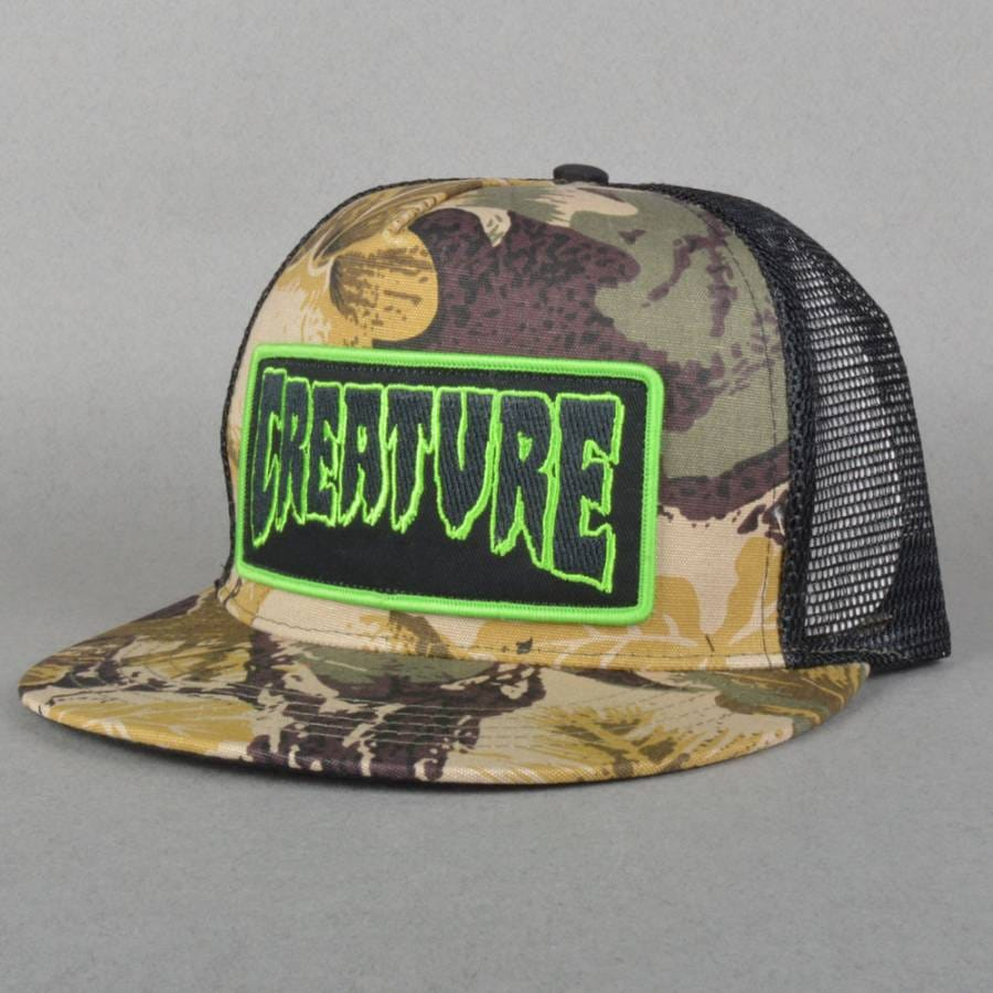 Creature Skateboards Hats Creature-skateboards-patch