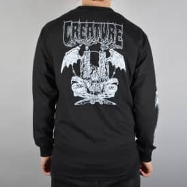 Creature Skateboards Plague Longsleeve T-Shirt - Black