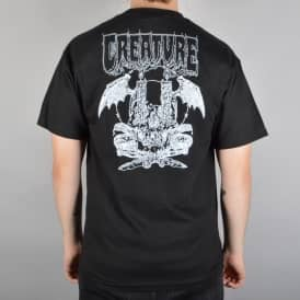Creature Skateboards Plague Skate T-Shirt - Black