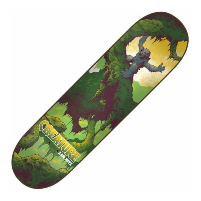 Creature Skateboards Sam Hitz Primitive Skateboard Deck 8.25