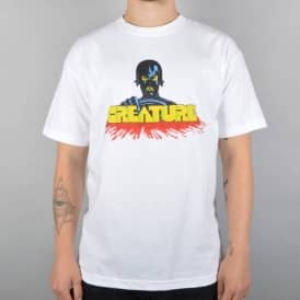 Creature Skateboards Speed Kills Skate T-Shirt - White