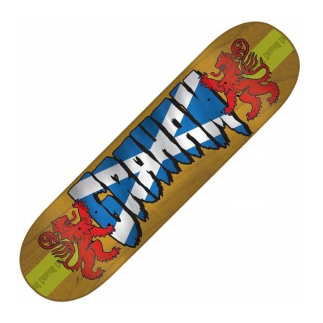 Creature Skateboards Stu Graham Pro Logo Skateboard Deck 8.8