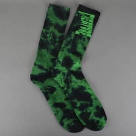 Creature Skateboards Toxsocks 2 Pack Socks - Black/Green