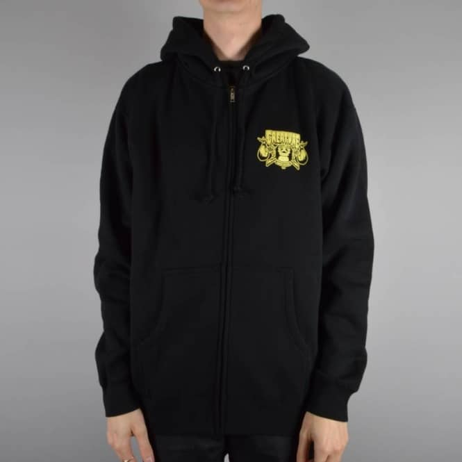 Creature Skateboards Transient Zip Hood - Black