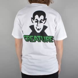 Creature Skateboards Vamp Pocket T-Shirt - White
