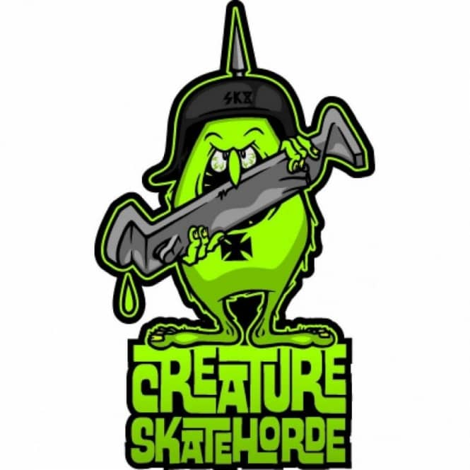 Creature skatehorde sticker