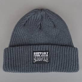 Creature Support Long Shoreman Skate Beanie - Charcoal