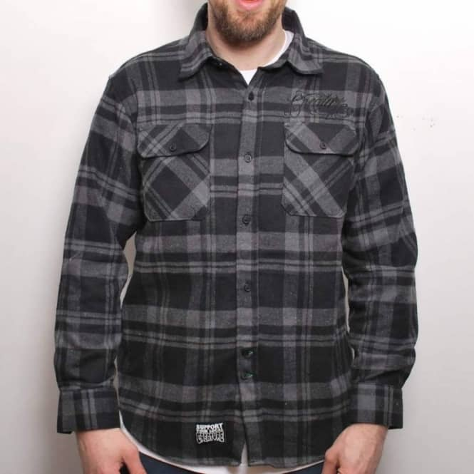 Creature Skateboards Creature The Lundegaard Button Up L/S Flannel Shirt