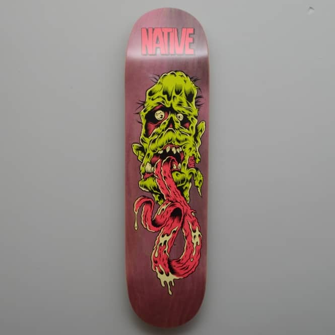 Native Creep (Purple Stain) Skateboard Deck 8.25''