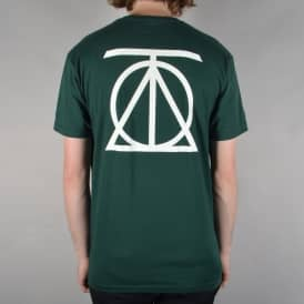 Crest Skate T-Shirt - Forest Green