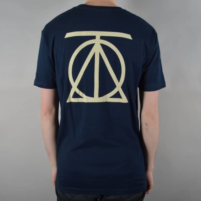 Theories of Atlantis Crest Skate T-Shirt - Midnight Navy