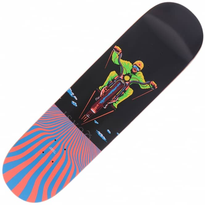 Quasi Skateboards Crockett Dream Cycle Skateboard Deck 8.25