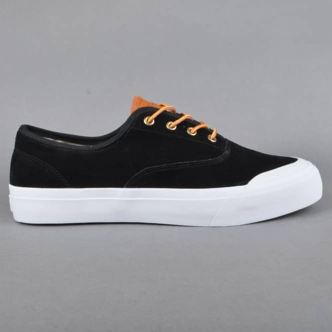 HUF Cromer Skate Shoes - Black/Baseball