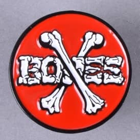 Cross Bones Lapel Pin - 1