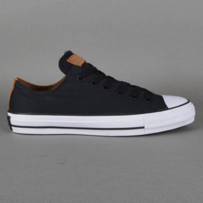 Converse CTAS Pro OX Skate Shoes - Black Rubber - SKATE SHOES from ... 5d61cd74f
