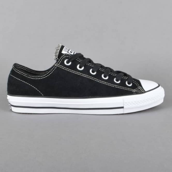 CTAS Pro OX Skate Shoes - Black/White