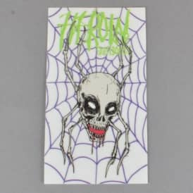 Curse Of The Spider Skateboard Sticker