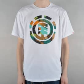 Cut Out Icon Skate T-Shirt - Optic White