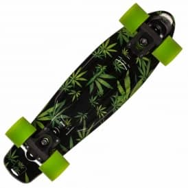 High Polyprop Cruiser Skateboard - Black