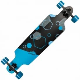 Polygon Hex Drop Through Complete Longboard 37.5