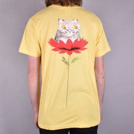 Daisy Do Skate T-Shirt - Lemon Yellow