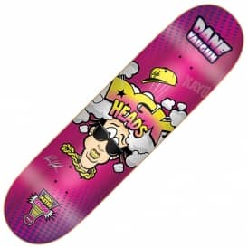 Dane Vaughn Heads Pink Skateboard Deck 8.1