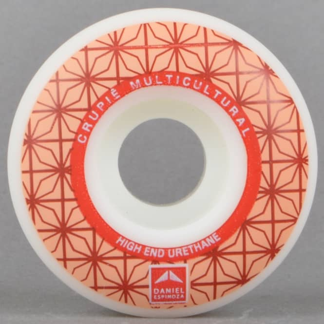 Crupiê Daniel Espinoza Aoki Geometric Skateboard Wheels 52mm
