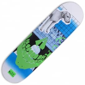 Darknet White Fade Skateboard Deck 8.75