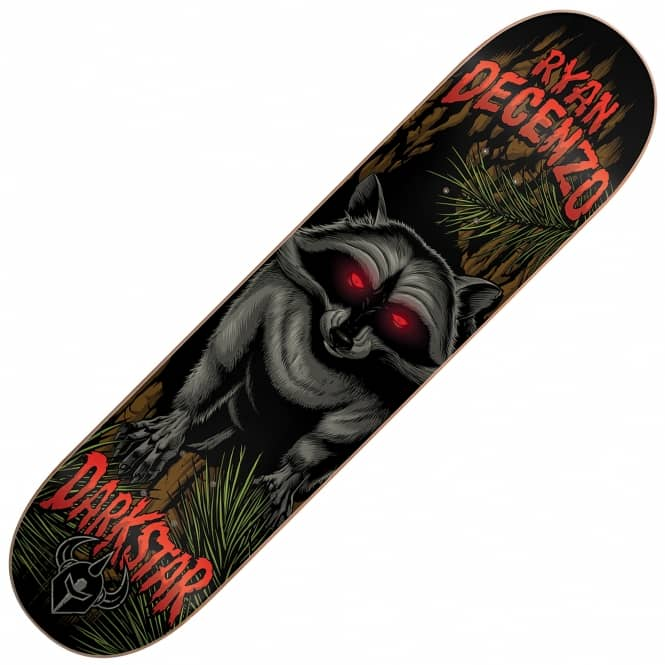 Darkstar Decenzo Raccoon Skateboard Deck 8.125