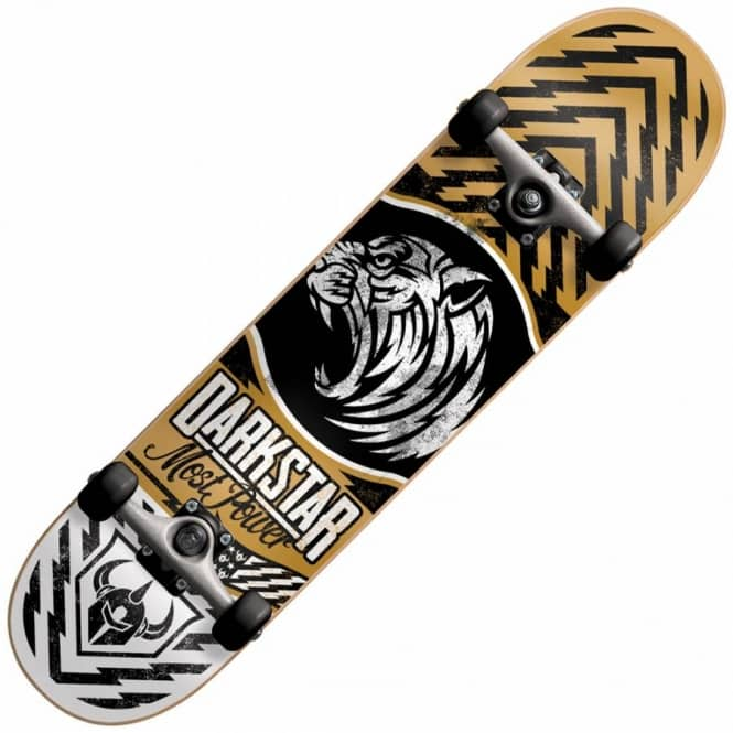 Darkstar Lion Gold Complete Skateboard 7.625
